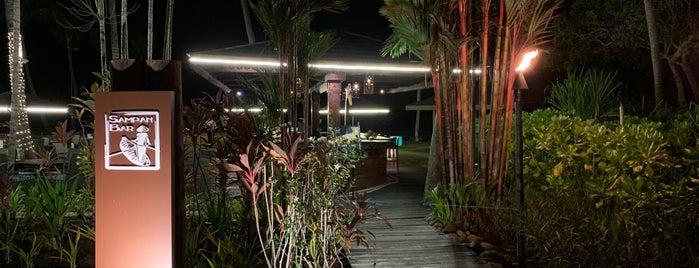 Sampan Bar is one of Tempat yang Disukai Christine.