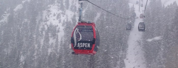 Aspen Mountain is one of Colorado Ski Areas.