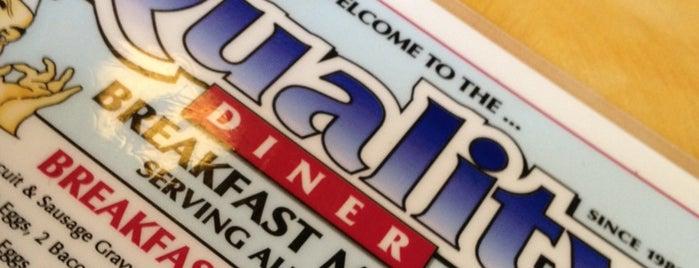 Quality Diner is one of Tempat yang Disukai LiquidRadar.