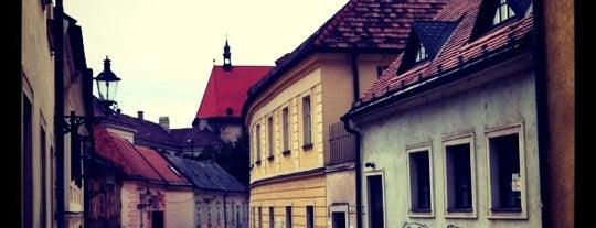 Kapitulská is one of Bratislava.