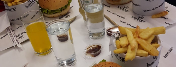 Hmbrgr - Homemade Burgers is one of Bence Ankara.