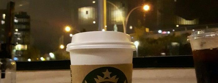 Starbucks is one of Lieux qui ont plu à Pelin.