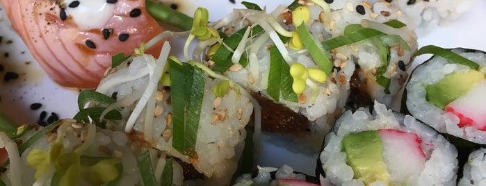 Sachiko Sushi is one of สถานที่ที่ Fuat ถูกใจ.