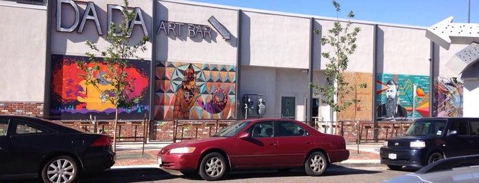 DADA Art Bar is one of Tempat yang Disukai Kristen.