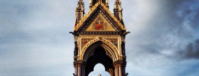 Albert Memorial is one of Kensington List.