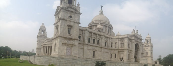Victoria Memorial is one of kolkata.