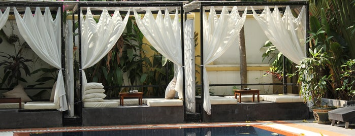 Villa Samnang Boutique Hotel is one of Orte, die Michael gefallen.