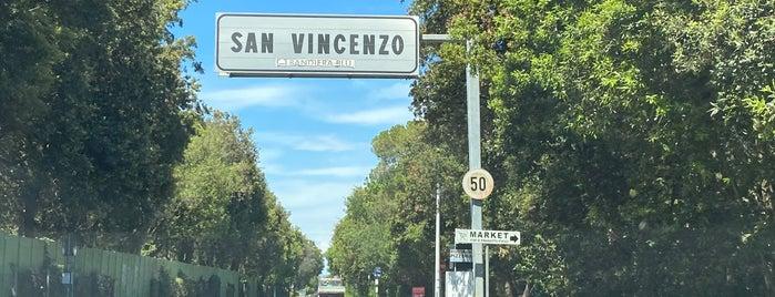 San Vincenzo is one of Sardinie cesta.