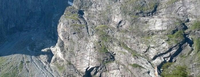 Trollveggen is one of Norge 2019.
