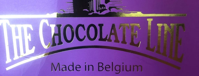 The Chocolate Line Foodtruck is one of Brugge.