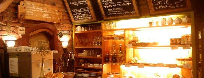 Kavárna a pekařství Zastávka is one of Kam v Brně na kávu.
