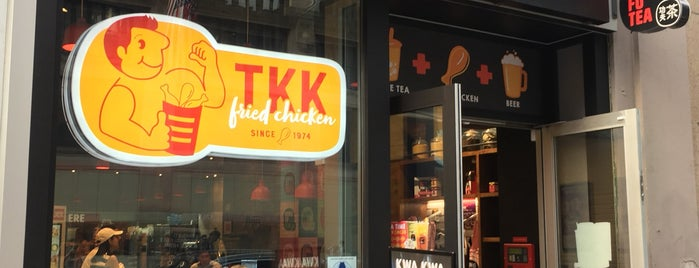 TKK Fried Chicken / Kung Fu Tea is one of Manhattan To-Do's (Between Houston & 34th Street).