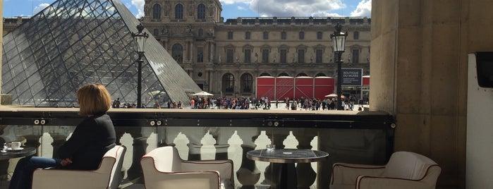 Le Café Marly is one of Paris Bars.