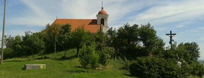 Havihegyi szikla is one of Pecs.