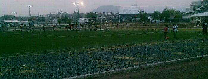 Complejo Deportivo La Carolina is one of สถานที่ที่ Mariana ถูกใจ.