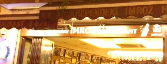 İmroz Restaurant is one of Vedat Milor İstanbul 100 Lokanta.