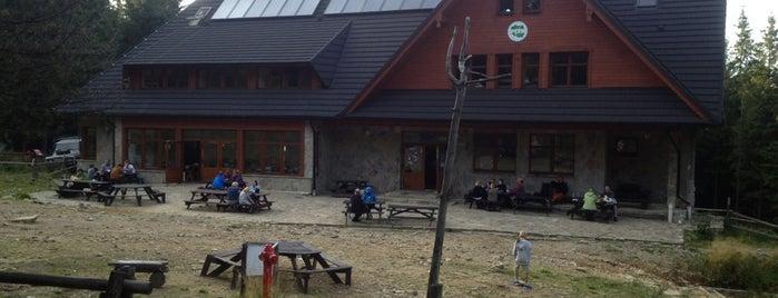 Schronisko na Markowych Szczawinach - 1180 m.n.p.m is one of Turistické chaty SK, CZ, PL.