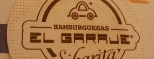 Hamburguesas El Garaje is one of สถานที่ที่บันทึกไว้ของ Luisa.