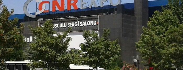 CNRExpo Fuar Merkezi is one of @istanbul.