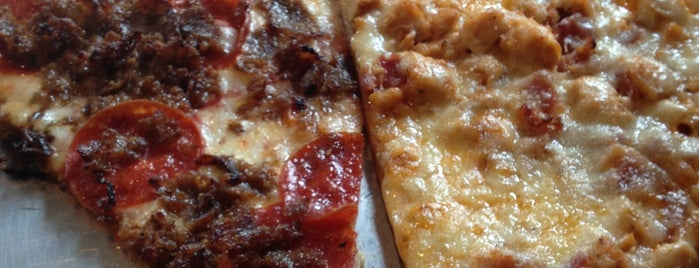 NY Pie is one of 20 Sriracha Dishes Worth Traveling For.