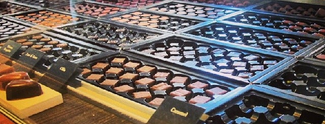 Pierre Marcolini is one of S Marks The Spots in BRUSSELS.