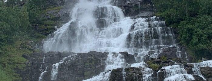 Tvindefossen is one of Bergen.