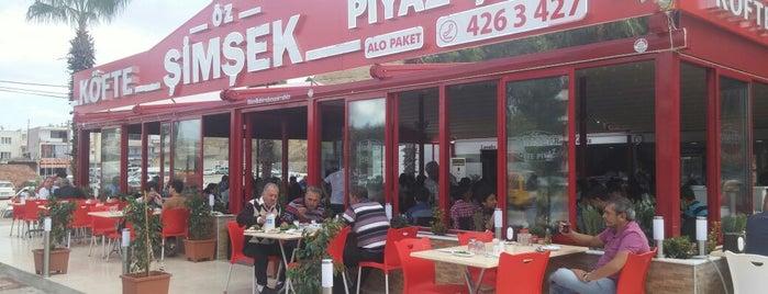 Öz Şimşek Köfte & Piyaz is one of Adalet 님이 좋아한 장소.