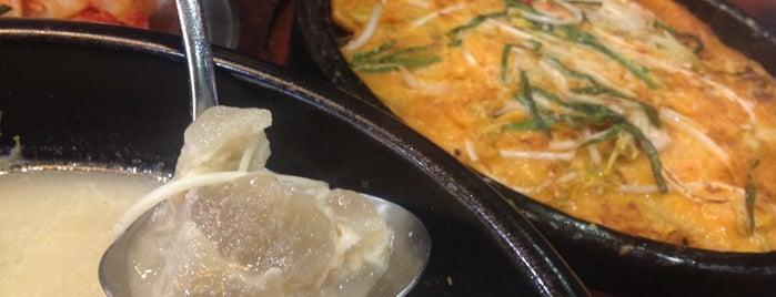 신선설농탕 is one of Korean food.