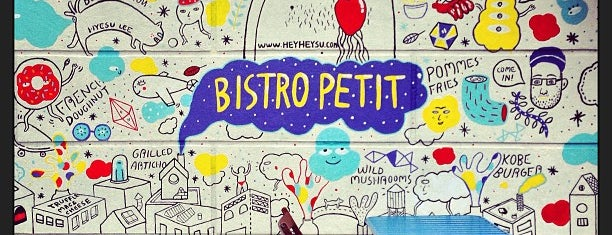 Bistro Petit is one of The New Yorker's About Town.