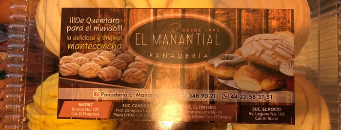 Panadería El Manantial is one of Locais curtidos por Rosco.