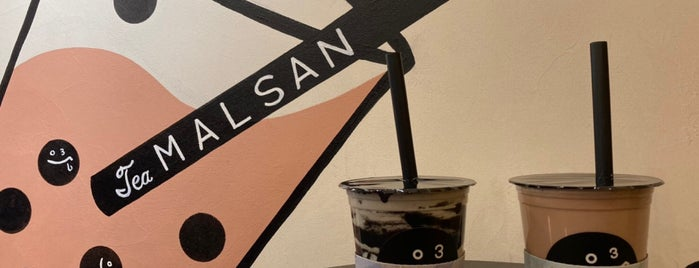 Tea MALSAN is one of Bubble tea Tokyo.