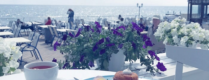 Terrace. Sea view is one of Викторияさんのお気に入りスポット.