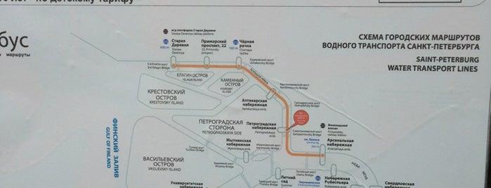 Аквабус: Петроградская набережная is one of Водить приезжих.