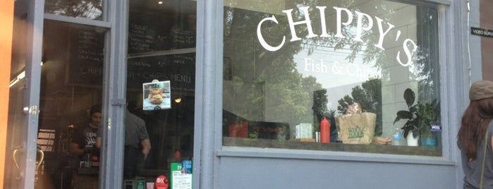 Chippy's Fish and Chips is one of Posti salvati di David.