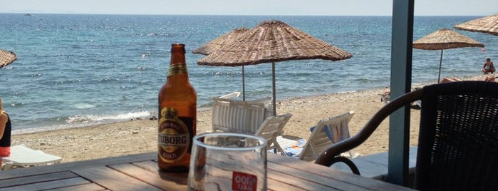 Antandros Beach Club is one of doğallık..