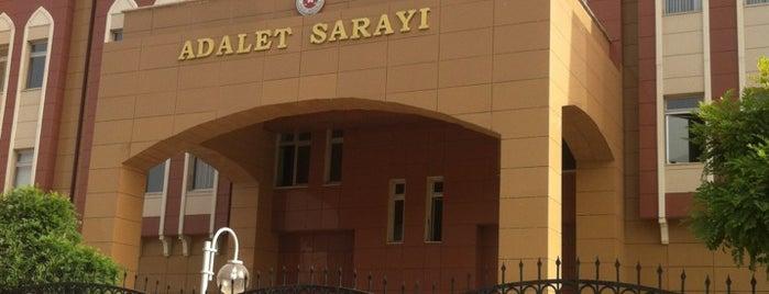 Manisa Adalet Sarayı is one of Mesut'un Beğendiği Mekanlar.