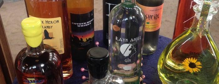 Black Heron Spirits Distillery is one of Craft Distilleries Guide Dec 2011.
