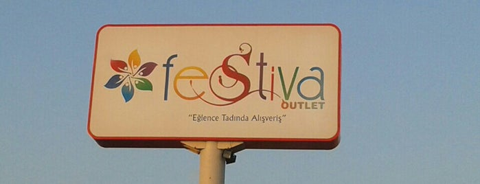 Festiva Outlet is one of Lieux qui ont plu à Hulya.