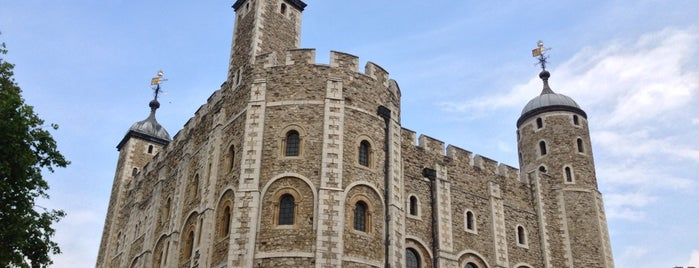 Tower of London is one of London calling.