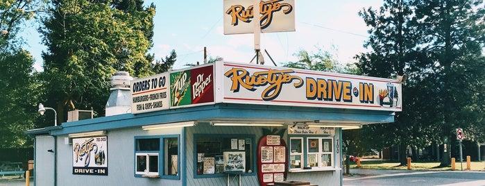 Rusty's Drive-In is one of สถานที่ที่ Dan ถูกใจ.