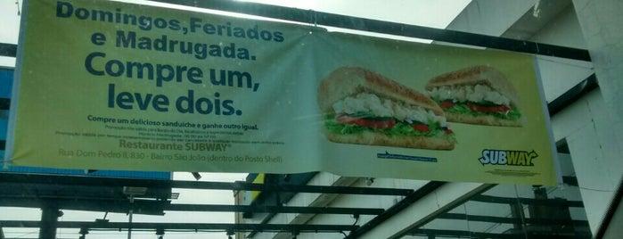 Subway is one of Ticket Restaurante.