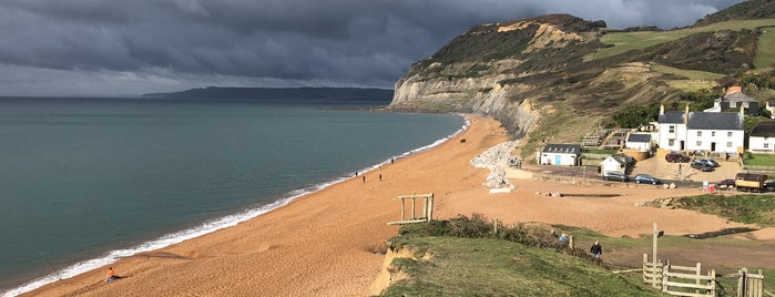Seatown Beach is one of Places to visit in Dorset.