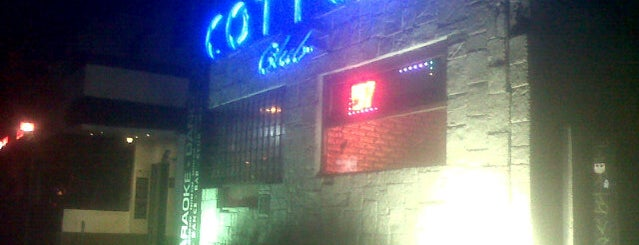 Cotton Club is one of Life night.