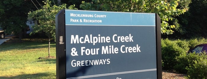 McAlpine Creek  & Four Mile Creek Greenways is one of My Stomping Grounds.