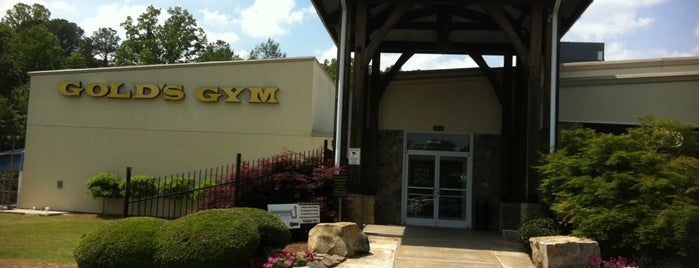 Gold's Gym is one of Sweat It Out Sanctuaries.