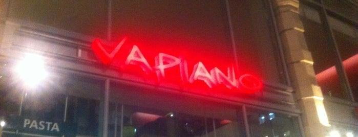 Vapiano is one of Kim's London Favs & Wishlist.