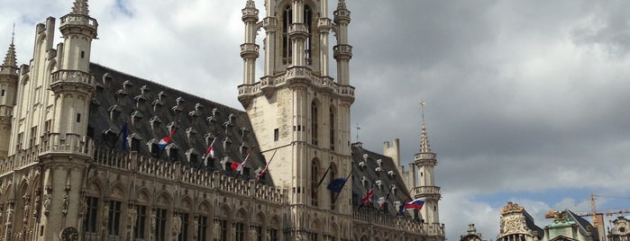Grand Place is one of Brussels Jazz Marathon (68 spots).