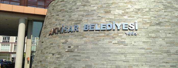 Akhisar Belediyesi is one of k&k : понравившиеся места.