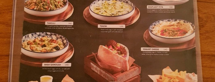 Hummus Boutique is one of Bangkok food hunt.