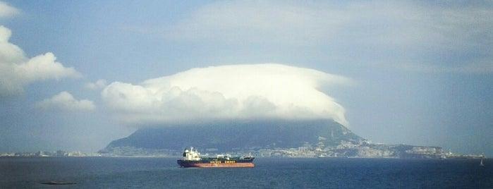 Gibraltar Bay is one of Gibraltar.